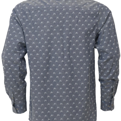 Daffy Oxford Shirt - Indigo