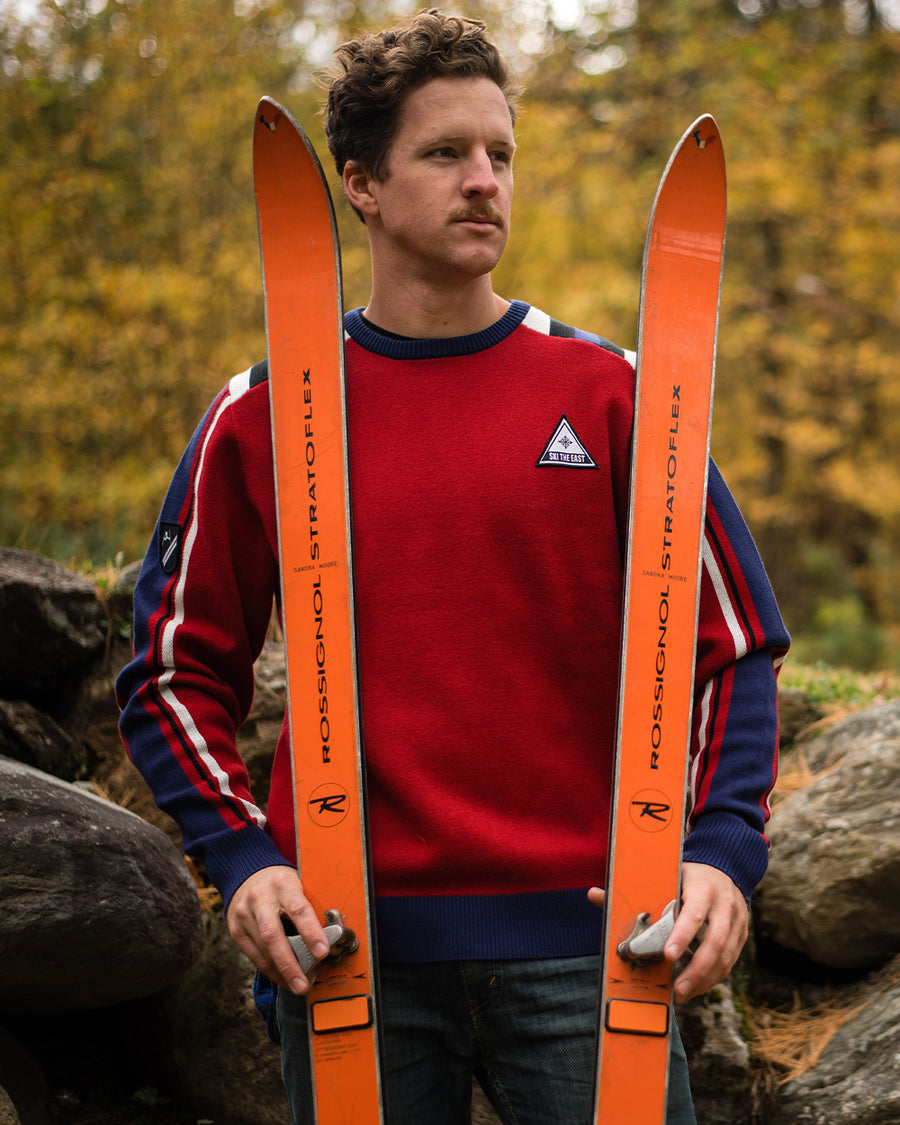 Lost Lodge Shredder Sweater - Cardinal