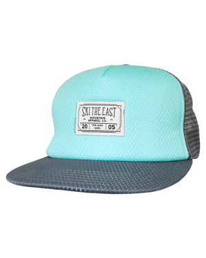 River Mesh Trucker Hat - Blue Spruce