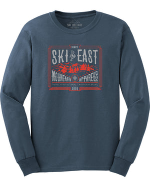 Small Mountain Longsleeve - Indigo