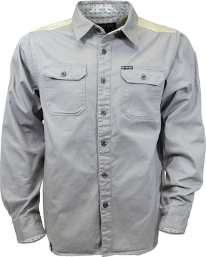 Skowhegan Work Shirt  - Gray