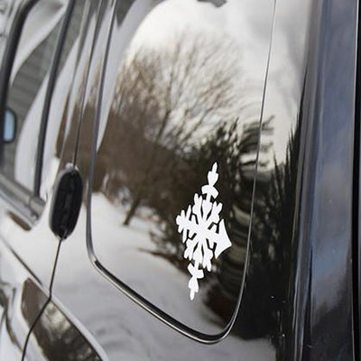 XL Die-Cut Sticker Pack - Flake - White
