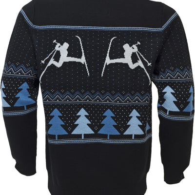 Silent Night Shredder Sweater - Black