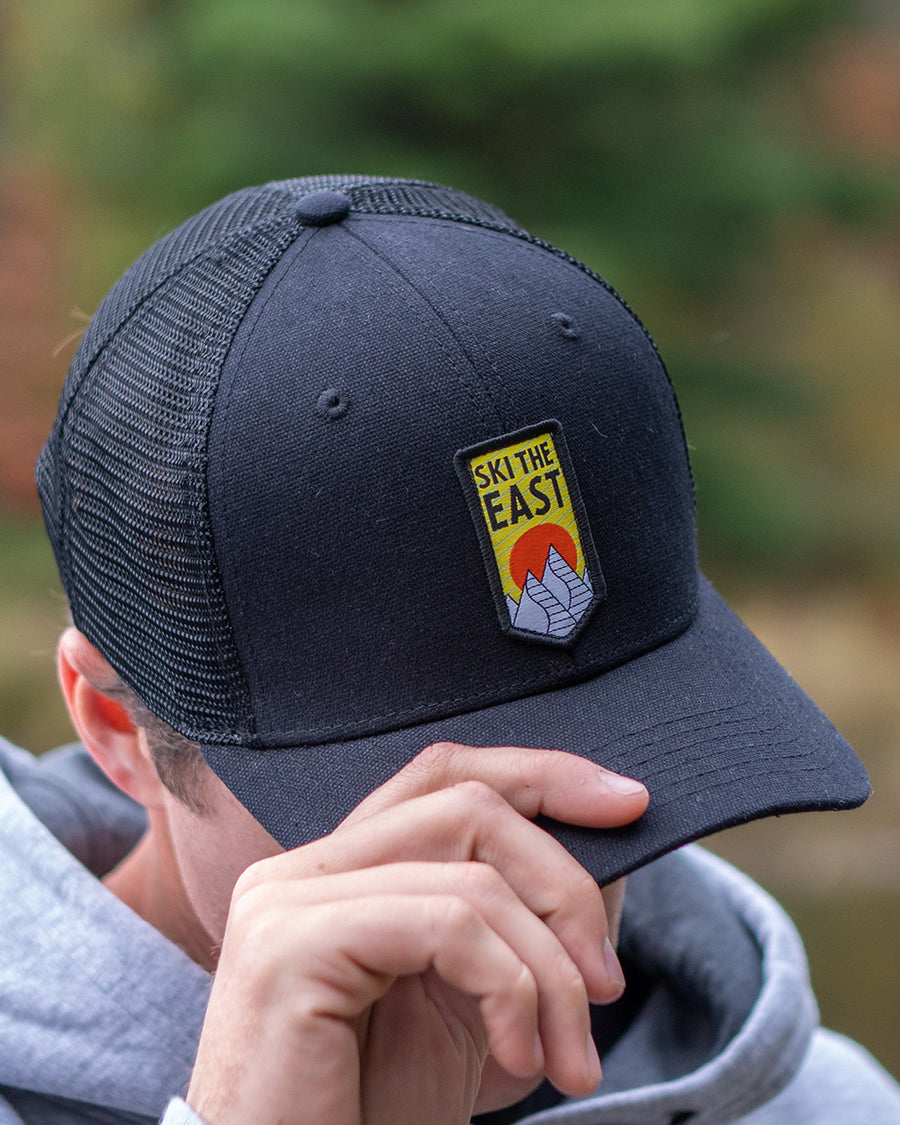 Upslope Trucker Hat - Black