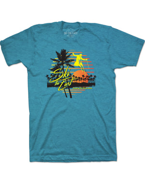 Vacation Tee - Ice Blue