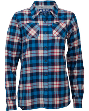 Women's Canopy Flannel - Blue
