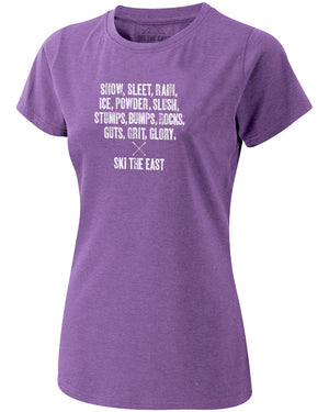 Womens Dedicated Tee - Berry