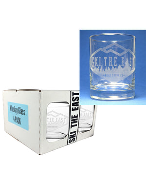 Woodland Whiskey Glass - 4 Pack