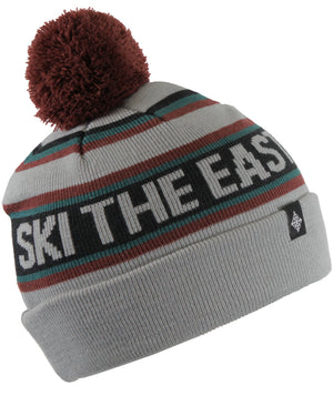 Youth Tailgater Pom Beanie - Gray