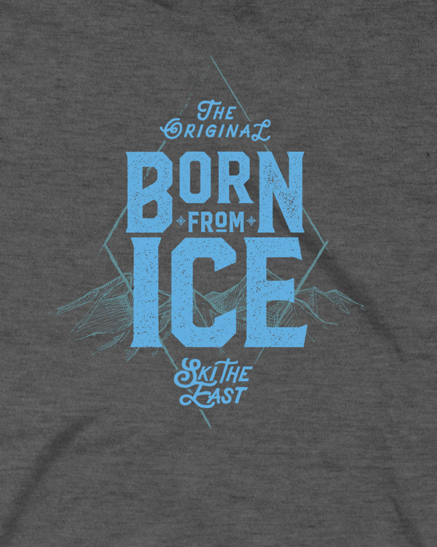 Youth Born From Ice Tee - Charcoal