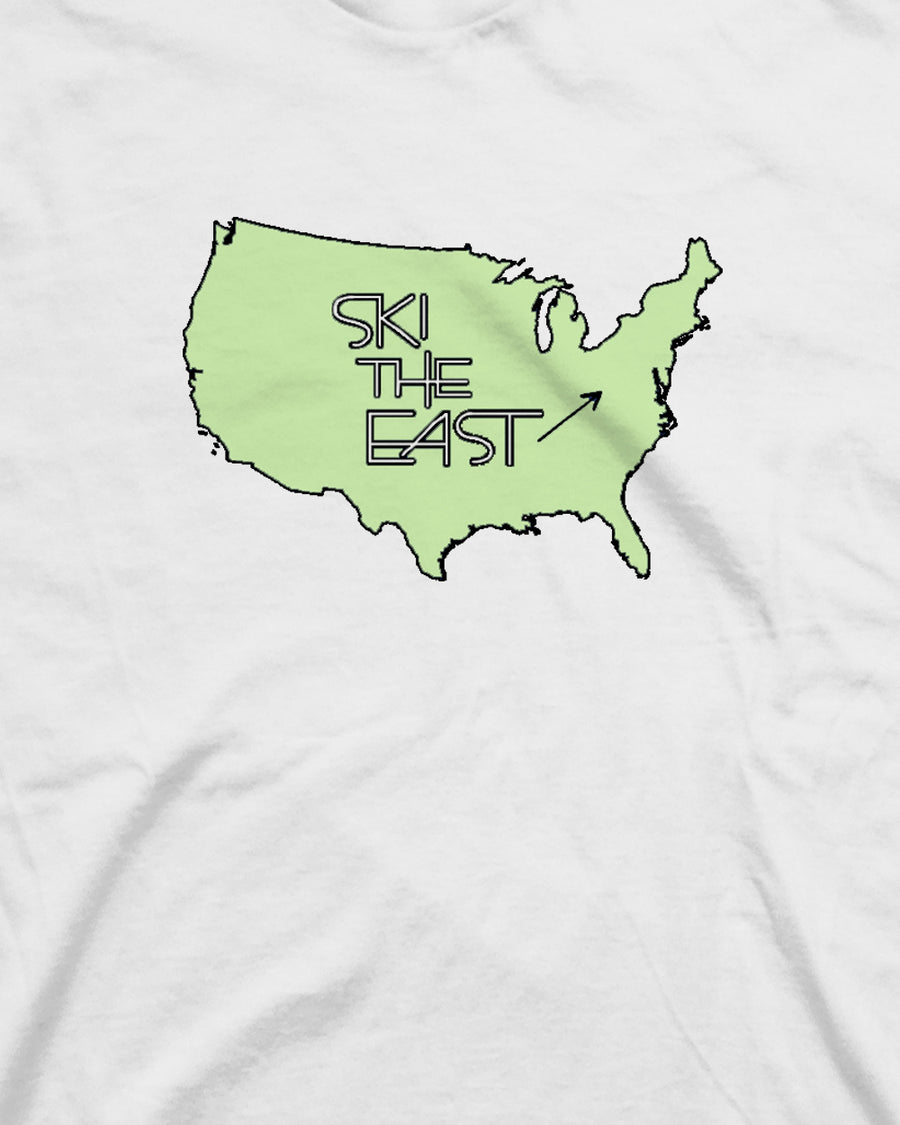 Youth USA Tee - White