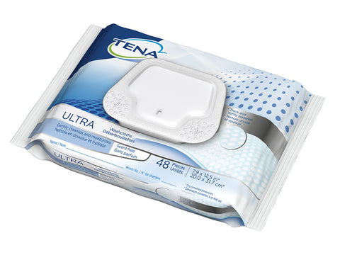 TENA® New Scented Free Washcloths