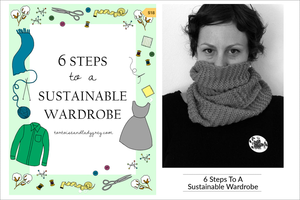 6 Steps to a Sustainable Wardrobe by Summer Edwards