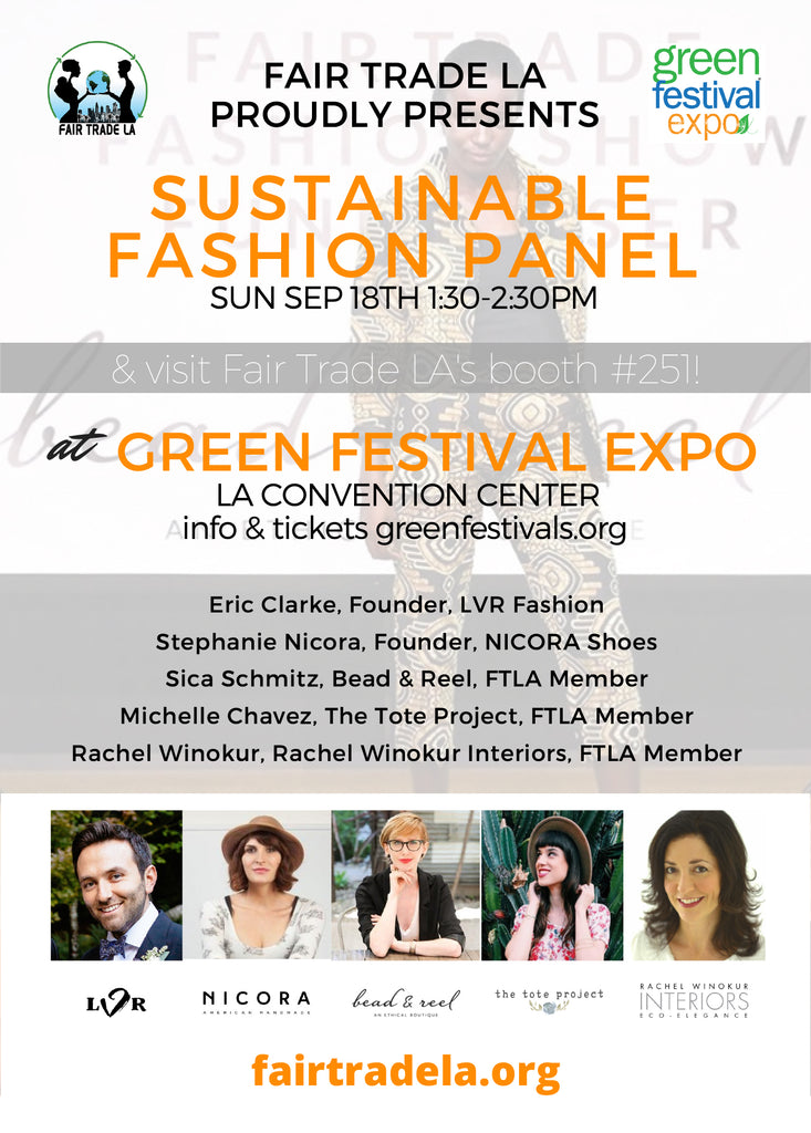 Green Festival LA Sustainable Fashion Panel