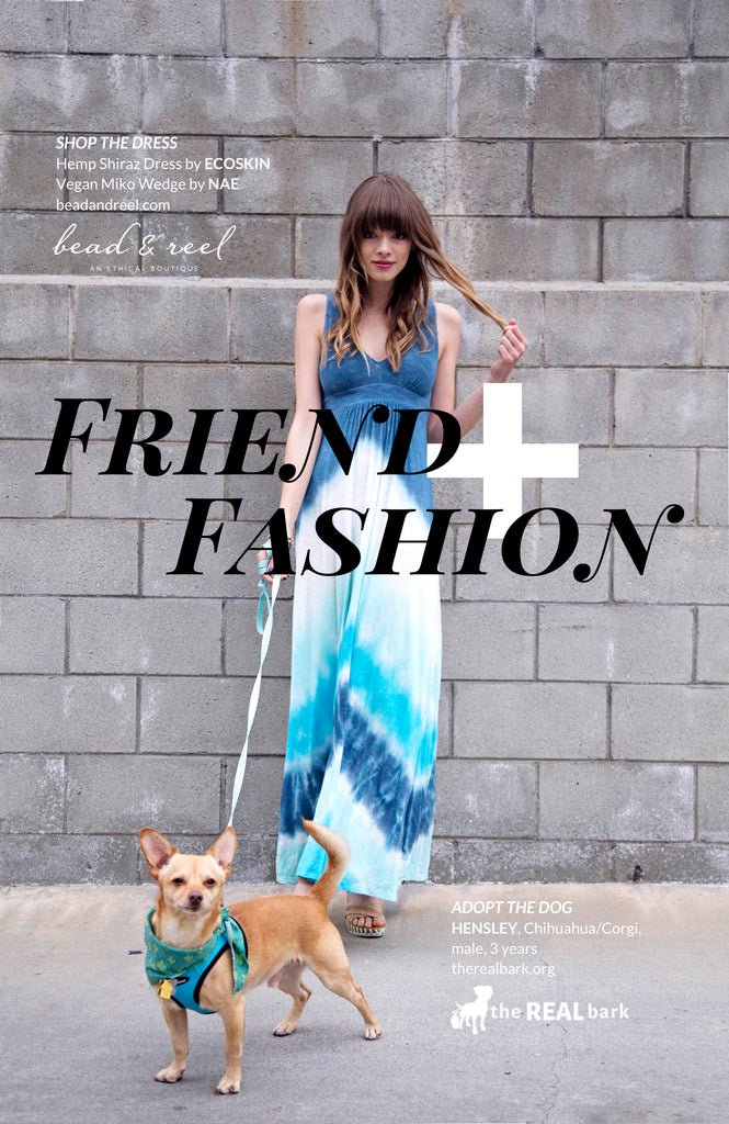 Friend + Fashion - The Real Bark with Bead & Reel