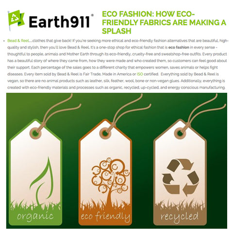 Earth911: How Eco-Friendly Fabrics are Making a Splash