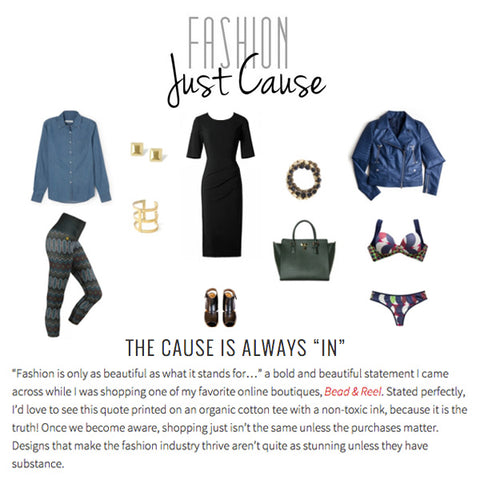 Fashion Just Cause: The Cause Is Always In