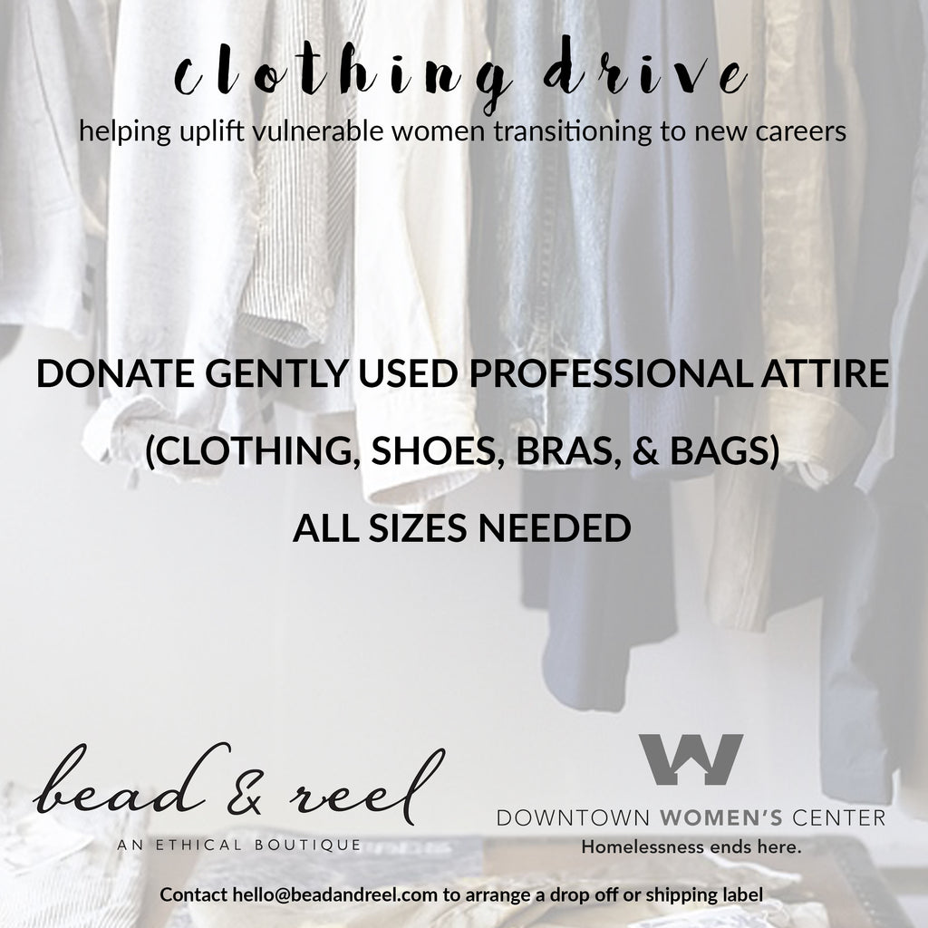 Downtown Women's Center Clothing Drive
