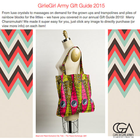 GirlieGirl Army Gift Guide 2015