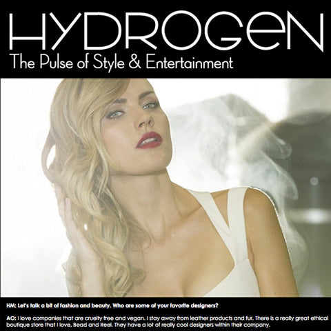 Hydrogen Magazine Buzzworthy with Agnes Olech