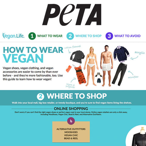 PETA: How To Wear Vegan