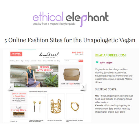 Ethical Elephant: 5 Online Fashion Sites for the Unapologetic Vegan