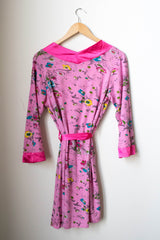Spreegirl Pink Floral Robe - Rescued Collection