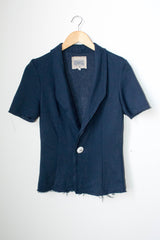 Tonle Navy Blazer - Rescued Collection