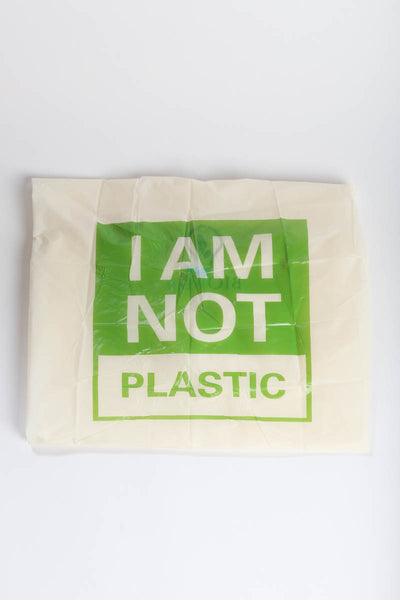 I AM NOT PLASTIC Rain Poncho