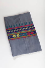 Light Tribal Love Scarf - Purple Impression