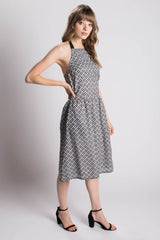 Victoria Road The Anemone Halter Dress Bead & Reel