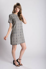 Victoria Road The Arabesque Classic Shift Dress Bead & Reel