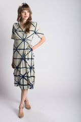 Rujuta Sheth Nova Wrap Dress Bead & Reel