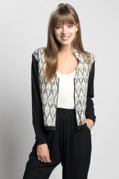 Zara Black and White Jacket