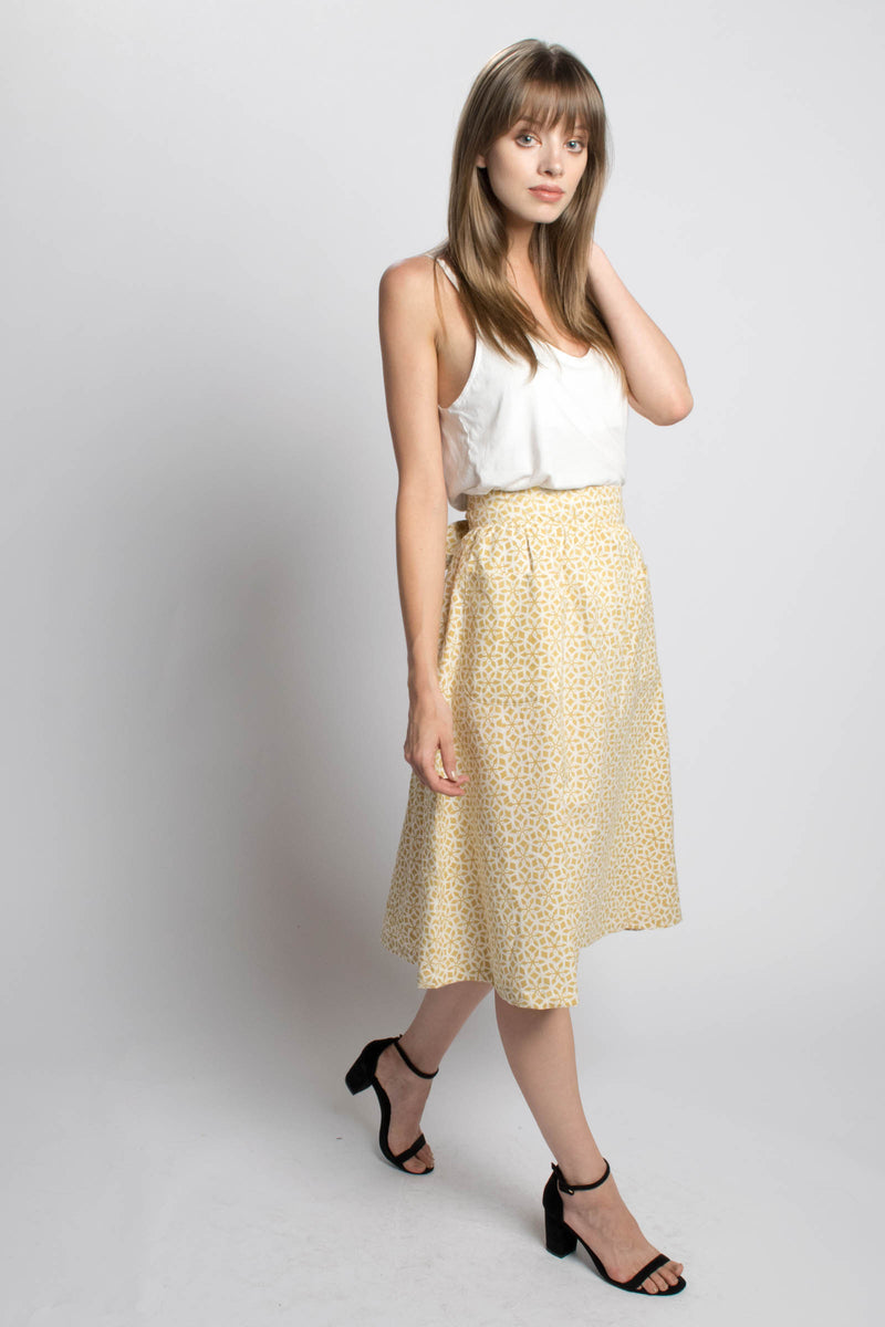 Passion Lilie Golden Goddess Midi Skirt Bead & Reel