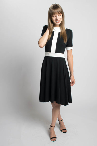 Monika Color Block Dress