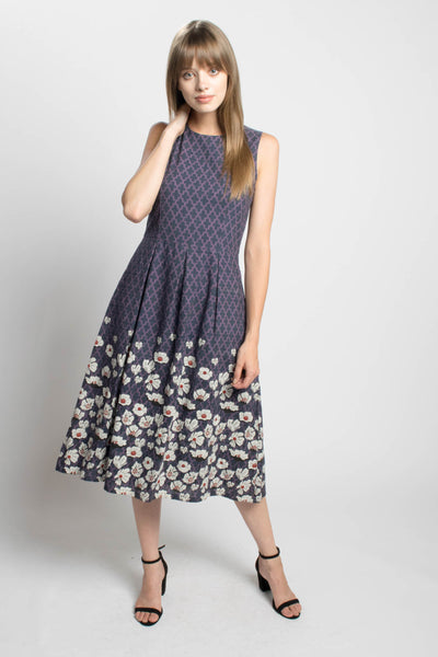 Yasmine Dress in Cascade Floral