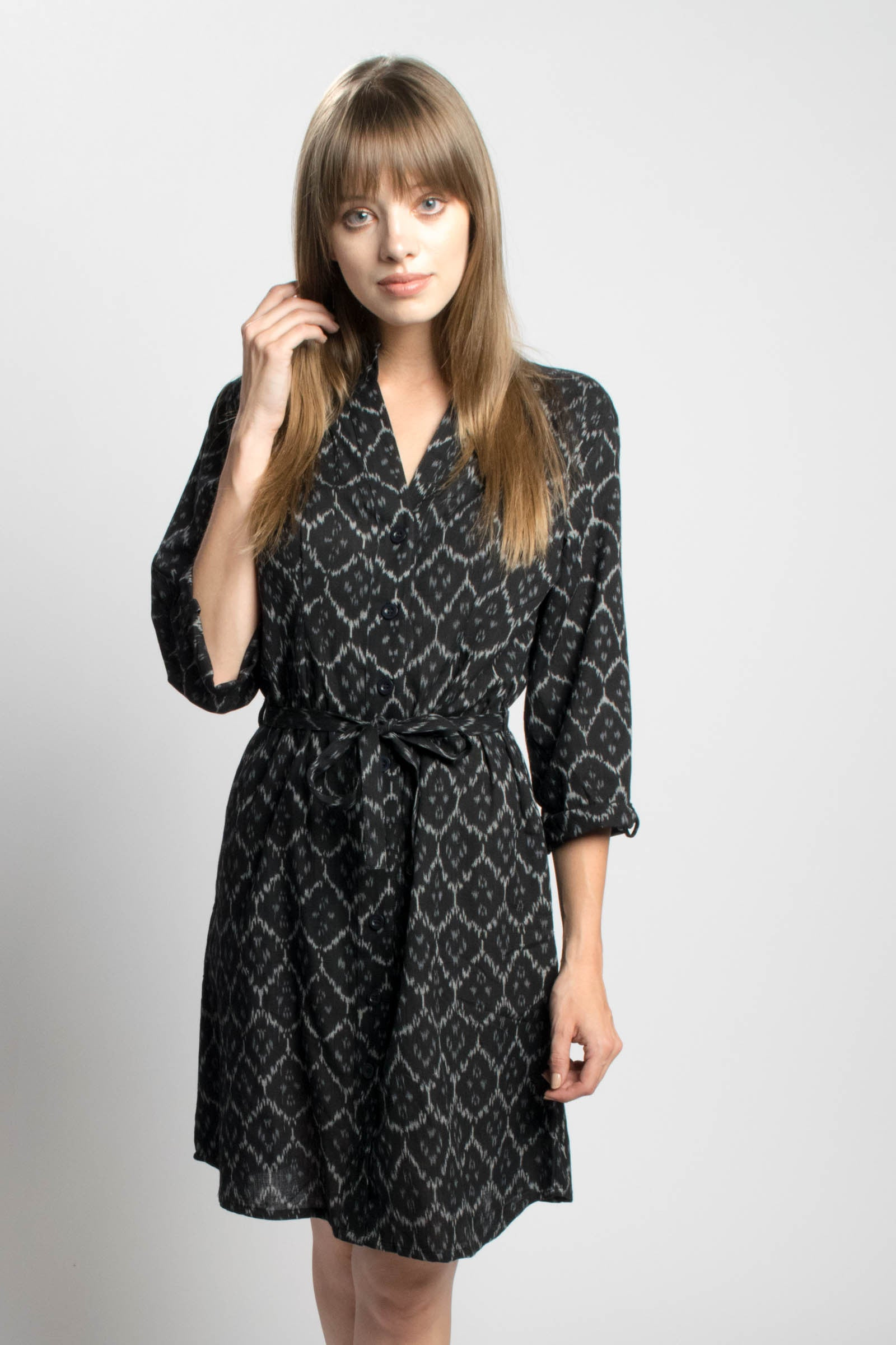 Charcoal Winter Dress