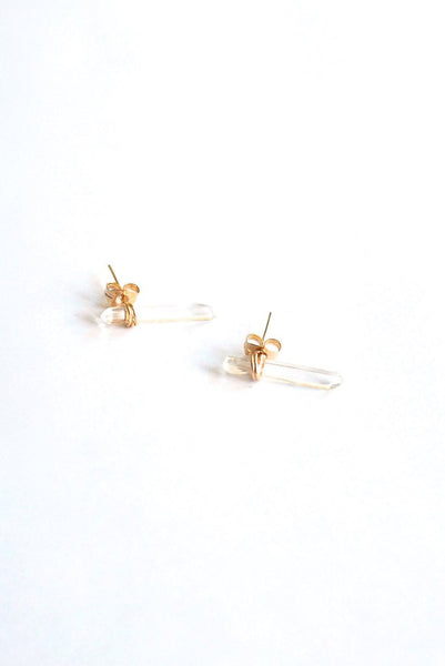 Alicante Crystal Stud Earrings
