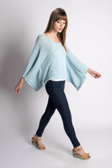 Pashen Collection - Chevron Poncho - Bead & Reel