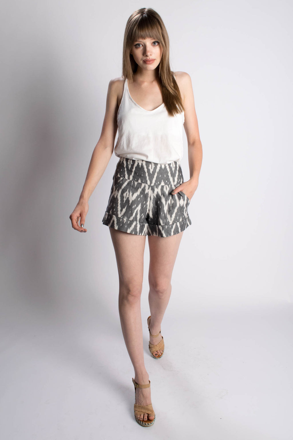 Passion Lilie Driftwood Shorts - Bead & Reel