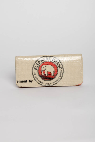 Cement Long Wallet