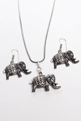 Elephant Necklace Set - Seyva