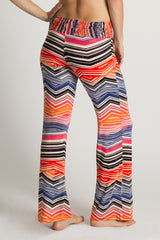 Sunset Windward Print Pants - ecoSkin