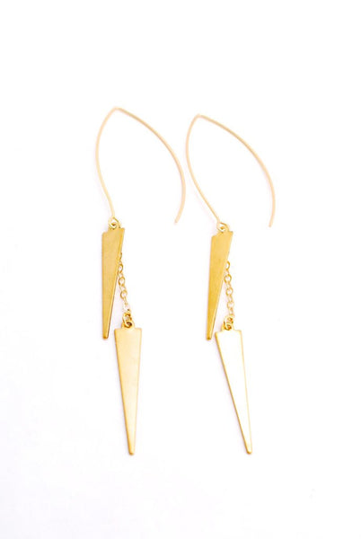 Madrid Spike Threader Earrings