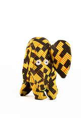 Handmade African Print Elephant Doll - Jessie's Place