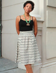 Passion Lilie The Classic Midi Skirt - Bead & Reel