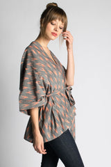 Peach Arrow Wrap - Passion Lilie