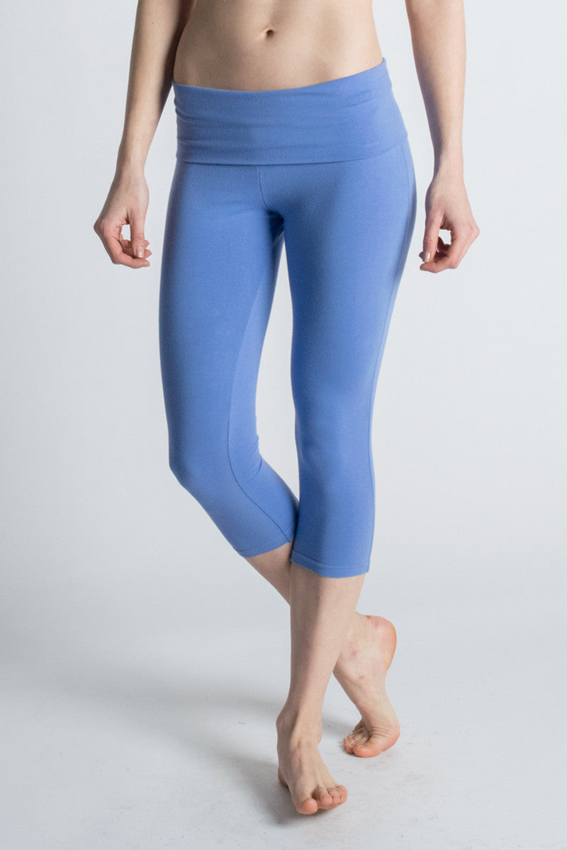 Organic Cotton Love Capri Legging - Beckons