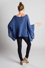 Summer Waves Kaftan Poncho - Pashen Collection